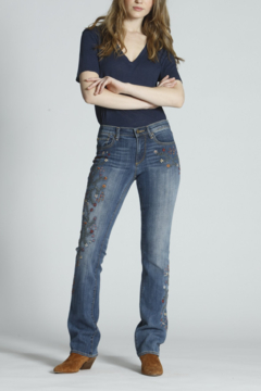 Driftwood Embroidered Boot Cut Jeans - Alternate List Image