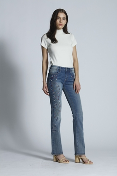 Driftwood Kelly Embroidered Boot Cut Jeans - Alternate List Image