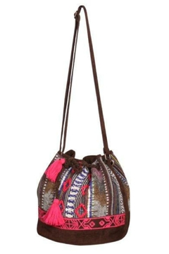 Shoptiques Product: Embroidered Bucket Bag