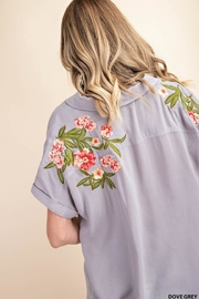 KORI AMERICA Embroidered Button-Up - Front cropped