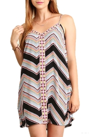 Umgee USA Embroidered Cami Dress - Product Mini Image