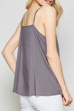 Andree Embroidered Cami Tank - Alternate List Image