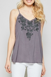 Andree Embroidered Cami Tank - Product Mini Image