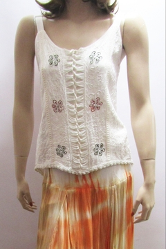 Apparel Love EMBROIDERED CAMISOLE TOP - Alternate List Image
