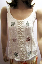 KIMBALS EMBROIDERED CAMISOLE TOP - Product Mini Image