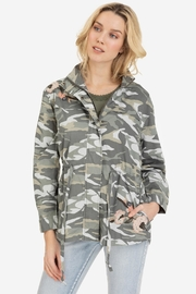 Tribal Embroidered Camo Jacket - Product Mini Image