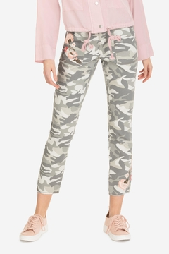 Tribal Embroidered Camo Jegging - Product List Image