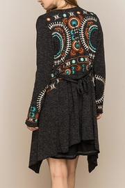 The Vintage Valet Embroidered Cardigan - Product Mini Image
