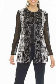 weavz Embroidered Cardigan Jacket - Product Mini Image