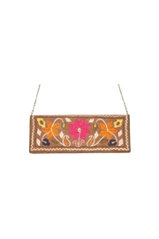 America & Beyond Embroidered Clutch - Product Mini Image
