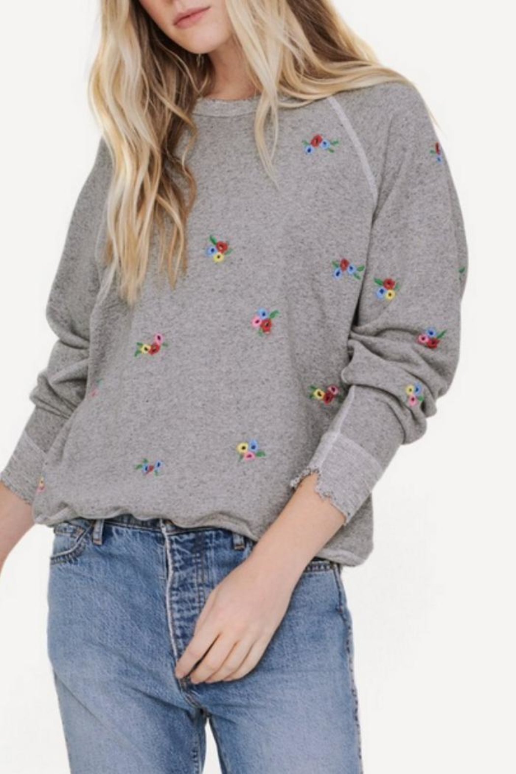 The Great Embroidered College Sweatshirt - Main Image