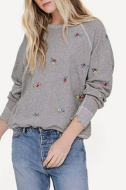 The Great Embroidered College Sweatshirt - Front cropped