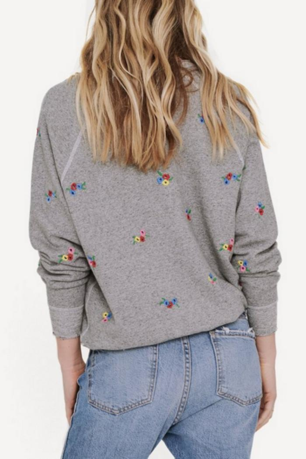 The Great Embroidered College Sweatshirt - Front Full Image