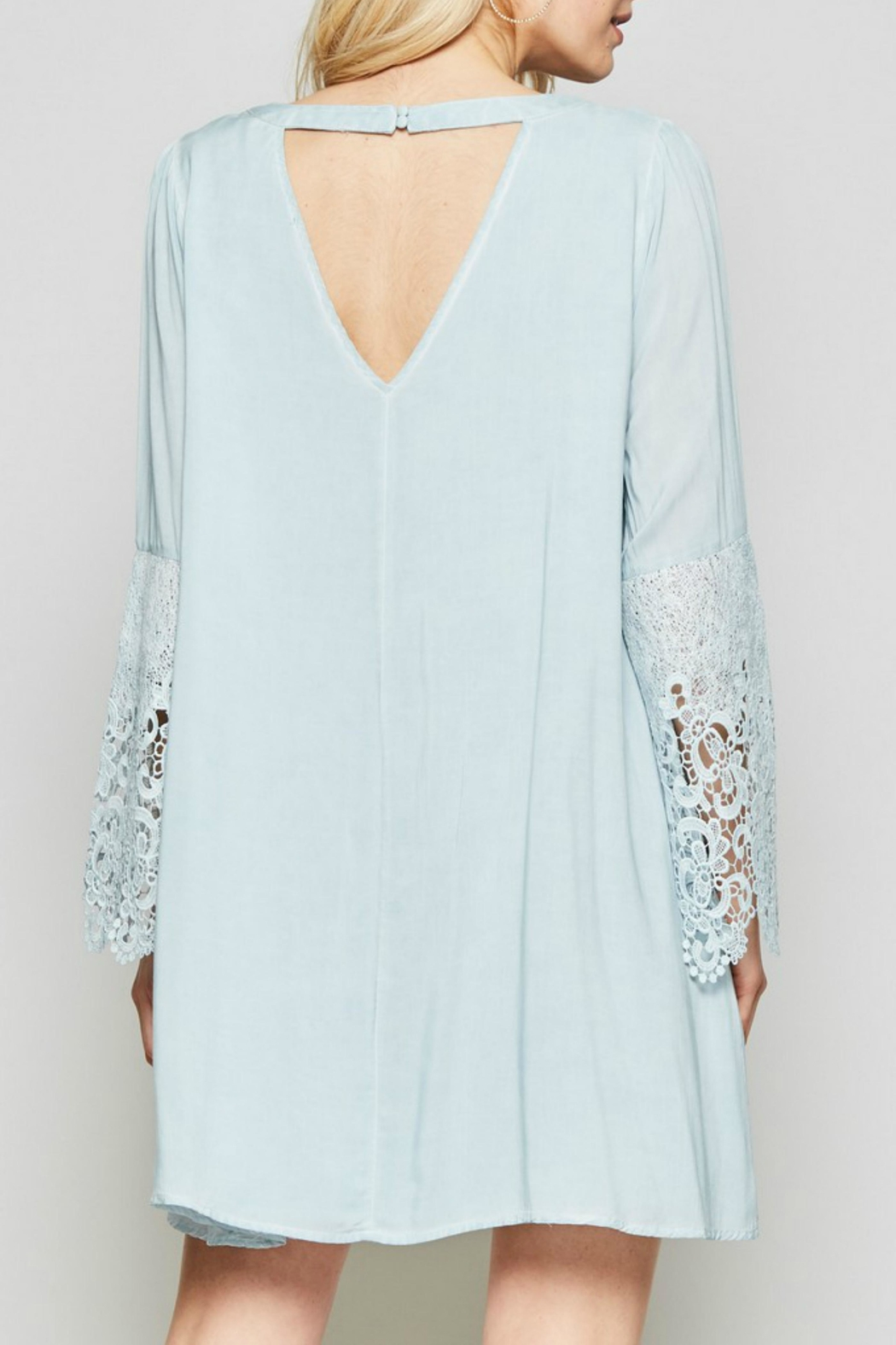 Andree by Unit Embroidered Crochet Bell - Front Full Image