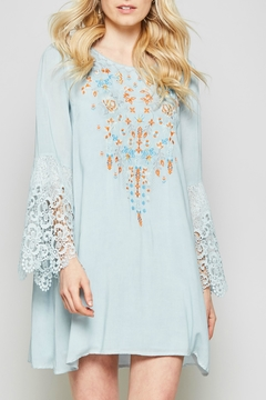Shoptiques Product: Embroidered Crochet Bell