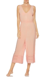 Splendid Embroidered Cropped Jumpsuit - Front cropped