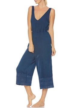 Splendid Embroidered Cropped Jumpsuit - Alternate List Image