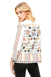 Adore Embroidered Denim Jacket - Front full body