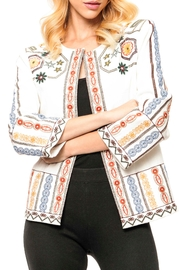 Adore Embroidered Denim Jacket - Front cropped