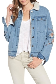 Cupcakes & Cashmere Embroidered Denim Jacket - Product Mini Image