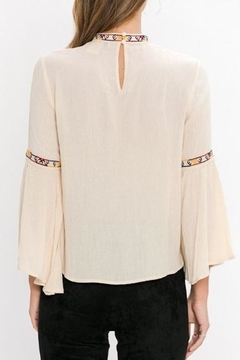 Jealous Tomato Embroidered Detail Blouse - Alternate List Image