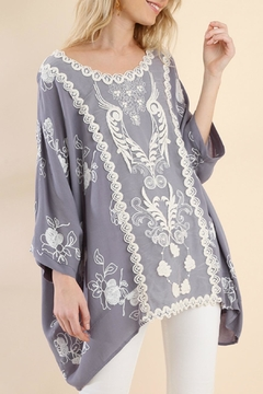Shoptiques Product: Embroidered Dolman Sleeve