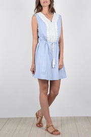 Molly Bracken Embroidered Dress - Product Mini Image