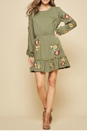 Andree by Unit Embroidered dress - Front cropped