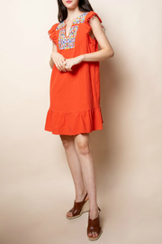 Thml Embroidered Dress - Product Mini Image