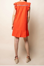 Thml Embroidered dress - Front full body