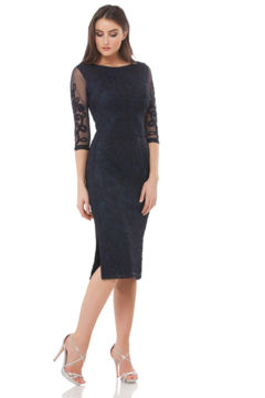 JS Collection Embroidered Dress - Alternate List Image