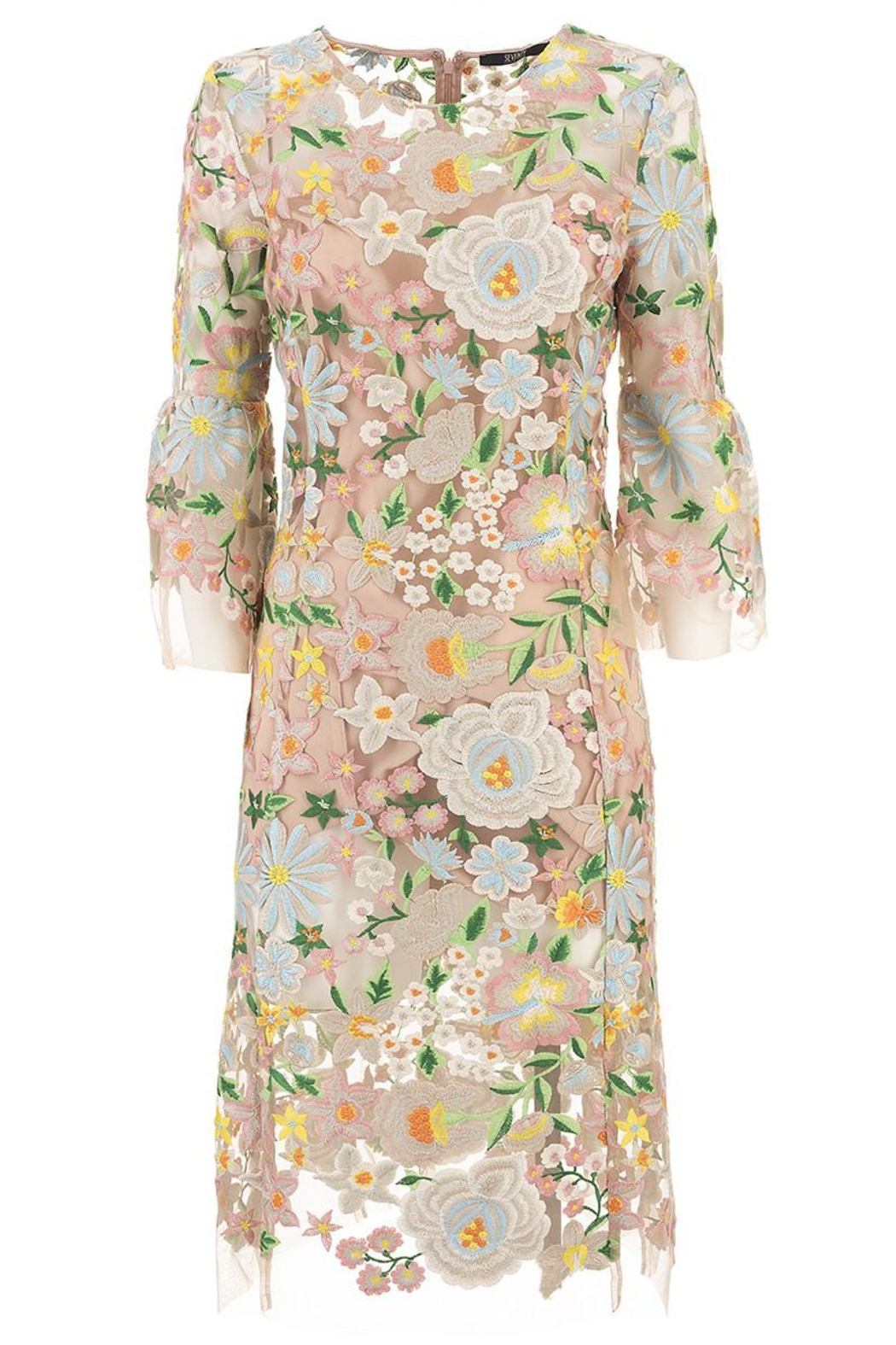 Seventy Embroidered Floral Dress - Main Image