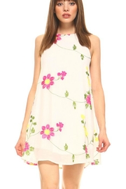 TCEC Embroidered Floral Dress - Product Mini Image
