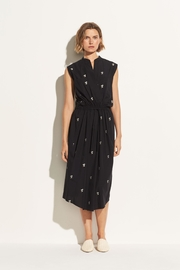 Vince Embroidered Floral Dress - Product Mini Image