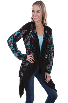 Scully Embroidered Floral Jacket - Product List Image