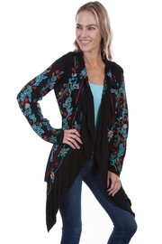 Scully Embroidered Floral Jacket - Product Mini Image