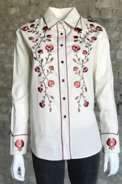 Rockmount Embroidered Rose Shirt - Product List Image
