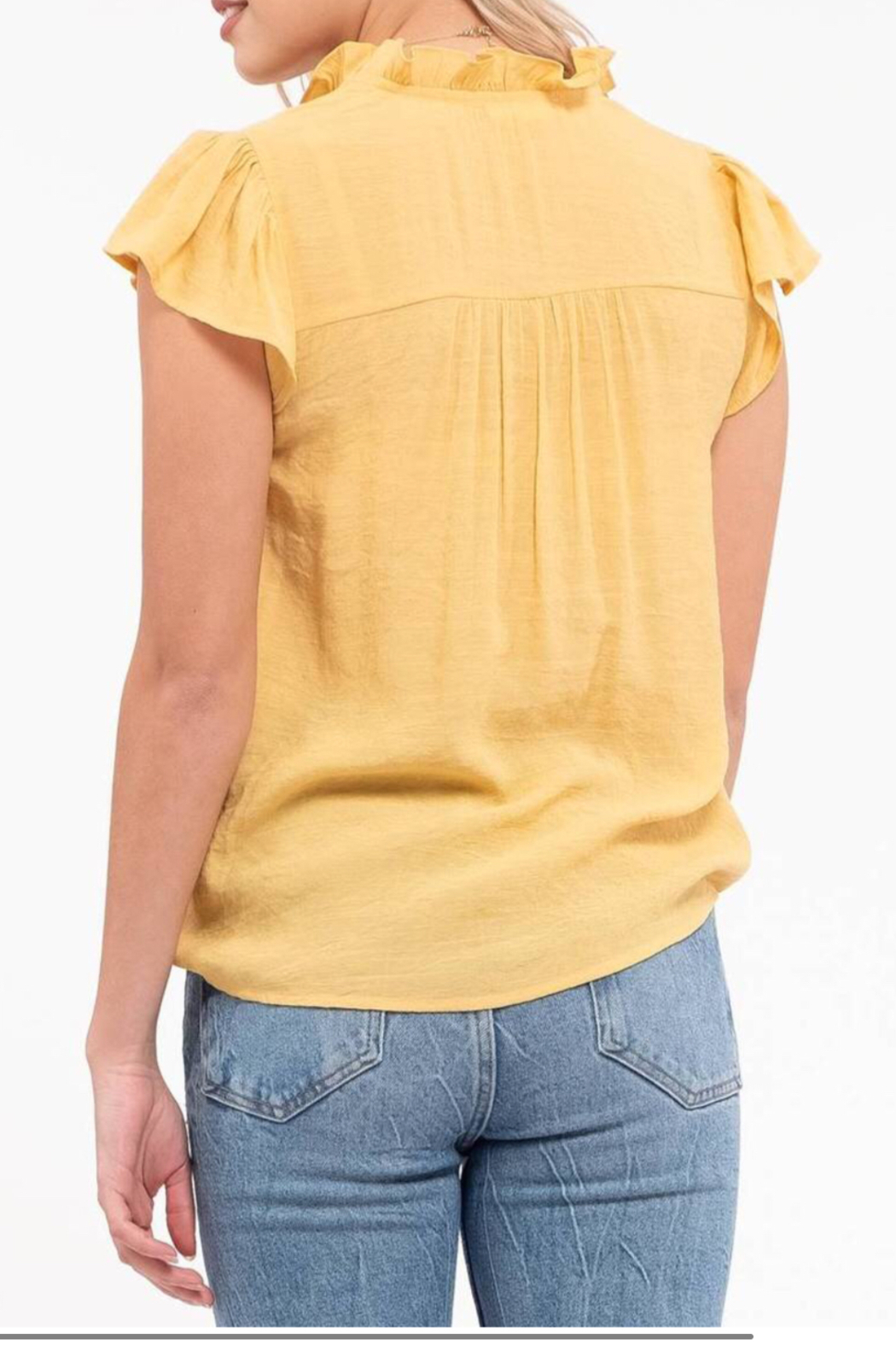 blu Pepper  Embroidered Floral Top - Side Cropped Image