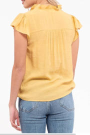 blu Pepper  Embroidered Floral Top - Side cropped