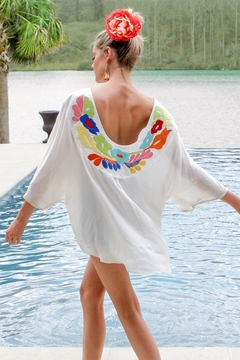 Judith March Embroidered Floral Tunic - Alternate List Image