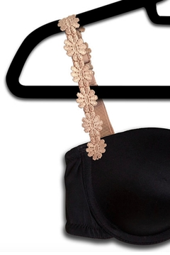 Shoptiques Product: Embroidered Flower Straps