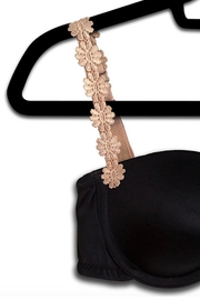 Lets Accessorize Embroidered Flower Straps - Product Mini Image
