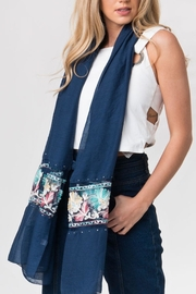 Pia Rossini Embroidered  Flowers Scarf - Product Mini Image