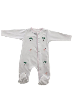 SAMMY & NAT Embroidered Footie Romper - Product List Image