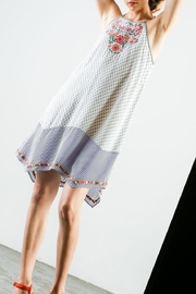THML Clothing Embroidered Halter Dress - Other