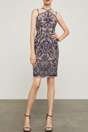 BCBG Max Azria Embroidered Halter Dress - Product Mini Image