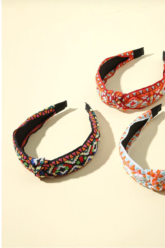 China Embroidered Head Bands - Alternate List Image