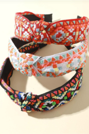 China Embroidered Head Bands - Product Mini Image