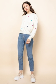 Thml Embroidered Heart Sweater - Front full body