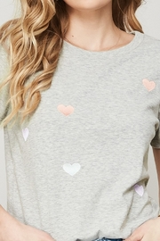 Promesa  Embroidered Heart Tee - Front cropped